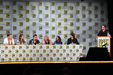"Paul Wesley Nina Dobrev CW's ""The Vampire Diaries"" Panel - Comic-Con International 2014"