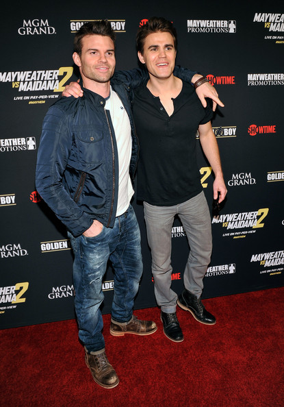 "Paul Wesley - Showtime's VIP Pre-Fight Party For ""MAYHEM: MAYWEATHER VS. MAIDANA 2"""