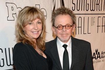 Paul Williams Mariana Williams Arrivals at the Songwriters Hall of Fame Induction Ceremony