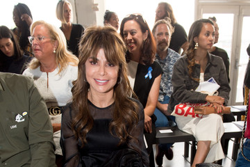 Paula Abdul Zero + Maria Cornejo - Front Row - September 2017 - New York Fashion Week