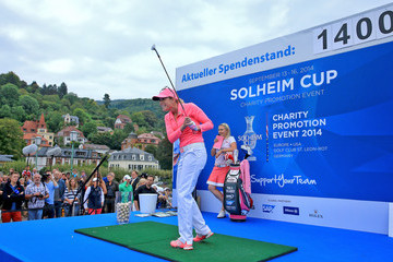 Paula Creamer Solheim Cup Charity Promotion Event: Day 1