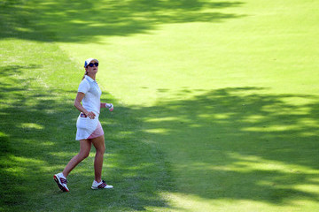 Paula Creamer The Solheim Cup - Day Two