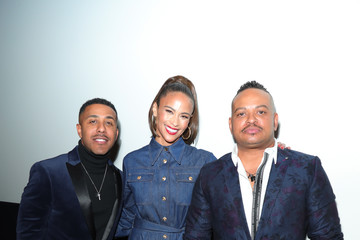 """Paula Patton Marques Houston BET+ And Footage Film's """"Sacrifice"""" Premiere Event At The Landmark Theater In Los Angeles"""