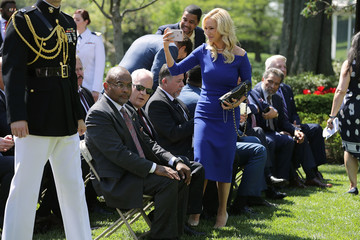 Paula White Trump Attends National Day Of Prayer Event In The Rose Garden