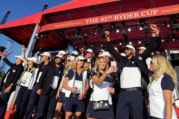 Paulina Gretzky 2016 Ryder Cup - Singles Matches