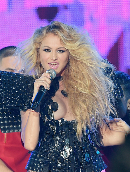 paulina rubio photos photos   billboard latin music awards