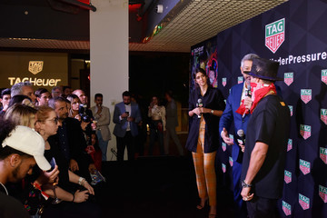 Paulina Vega TAG Heuer Celebrates Art Basel Miami 2018 With The Launch Of Alec Monopoly's Special Edition Timepieces