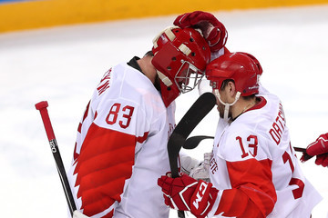 Pavel Datsyuk Ice Hockey - Winter Olympics Day 14