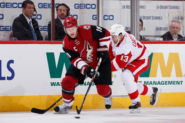 Pavel datsyuk and shane doan photos photos detroit red wings v detroit red wings v arizona coyotes voltagebd Image collections
