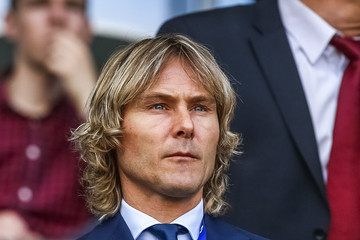 Pavel Nedved Czech Republic v Denmark - UEFA Under21 European Championship 2015