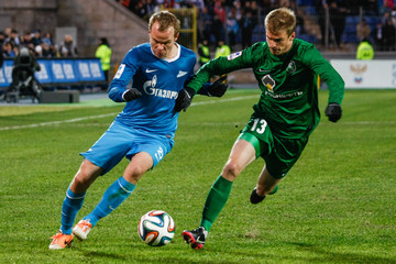 Pavel Nyakhaychyk FC Zenit St. Petersburg v FC Tom Tomsk - Russian Premier League