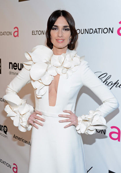 Paz Vega - 21st Annual Elton John AIDS Foundation Academy Awards Viewing Party - Red Carpet