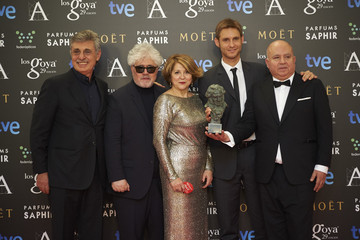 Pedro Almodovar Goya Cinema Awards 2015 - Press Room