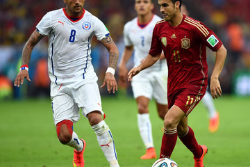 Pedro Rodriguez Spain v Chile: Group B