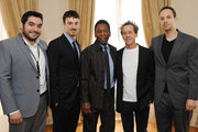 (L-R) Ivan Orlic, Michael Zimbalist, Former footballer Pele, Brian Grazer, Jeff Zimbalist attends a photo call to promote 'Pele', a film about his life not yet in production, during the 66th Annual Cannes Film Festival at the Palais des Festivals on May 15, 2013 in Cannes, France.