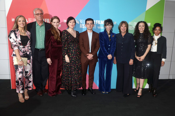 'Eternal Beauty' World Premiere - 63rd BFI London Film Festival [social group,event,community,fashion,team,ceremony,fashion design,tourism,eternal beauty,l-r,bfi london film festival,world premiere,adrian bate,craig roberts,natalie oneill,sally hawkins,penelope wilton,morfydd clark]