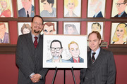 Penn and Teller Honored with Sardi's Caricatures