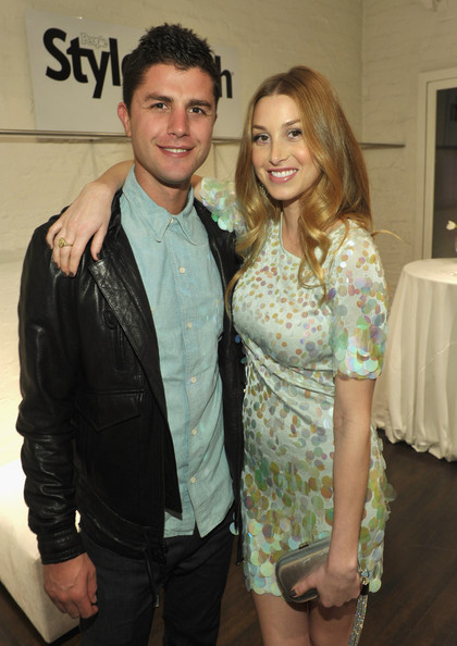 whitney port style 2011. Actress Whitney Port (R) and