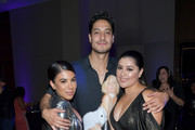 """(L-R) Chrissie Fit, Carlos Miranda, and Chelsea Rendon attend People En Espanol's """"Los 50 Más Bellos"""" Celebration at 1 Hotel West Hollywood on May 23, 2019 in West Hollywood, California."""