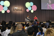 William Levy and Maria Morales speak on stage during People en Español 6th Annual Festival to Celebrate Hispanic Heritage Month - Day 2 on October 06, 2019 in New York City.
