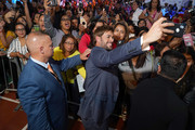 William Levy takes a selfie with fans at People en Español 6th Annual Festival to Celebrate Hispanic Heritage Month - Day 2 on October 06, 2019 in New York City.