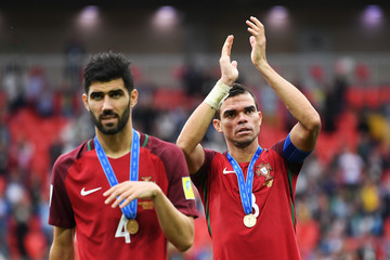 Pepe Portugal v Mexico: Play-Off for Third Place - FIFA Confederations Cup Russia 2017