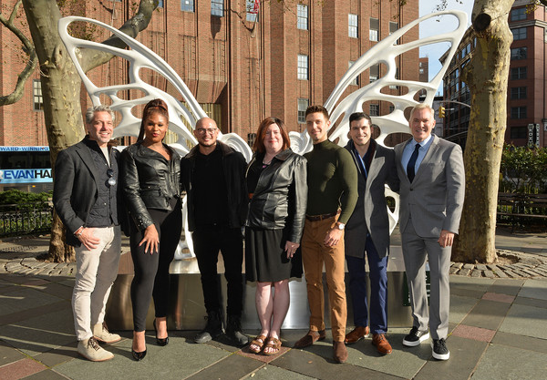 Robem Robierb Unveils New Sculpture Dedicated To The Transgender GNC Community In NYC's Tribeca Park, In Partnership with Mastercard