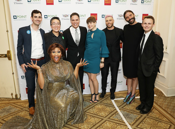 Celebrities Support LGBTQ Education At Point Honors Gala New York