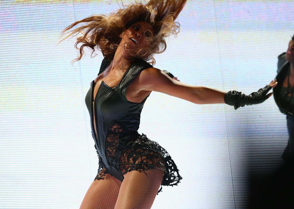 Beyonce performs during the Pepsi Super Bowl XLVII Halftime Show at Mercedes-Benz Superdome on February 3, 2013 in New Orleans, Louisiana.