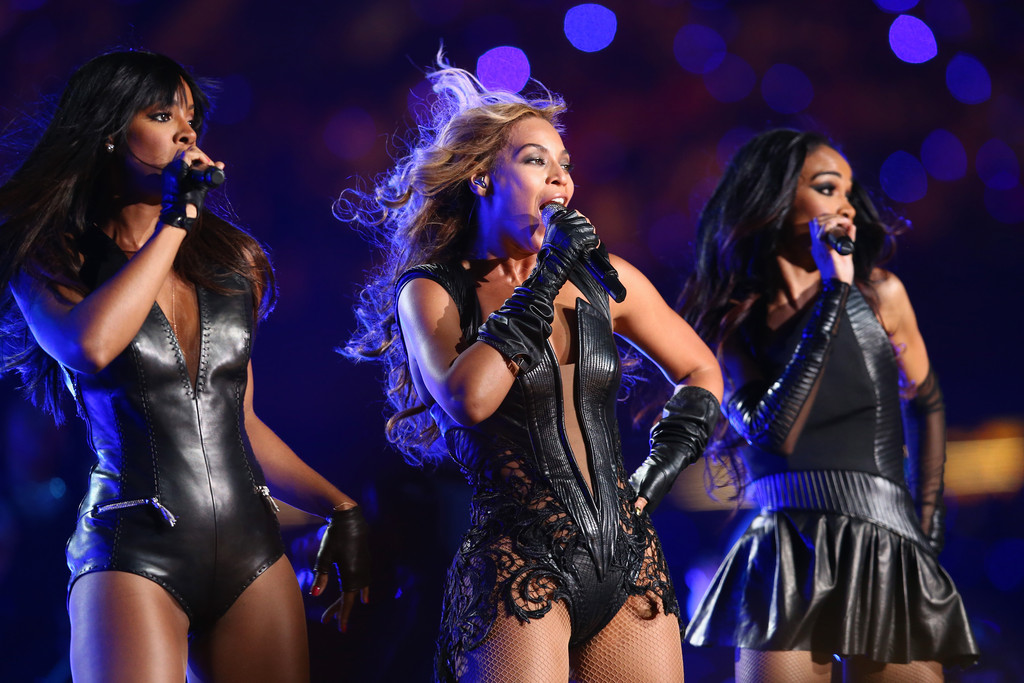 Kelly Rowland, Beyonce Knowles and Michelle Williams of Destinys Child perform during the Pepsi Super Bowl XLVII Halftime Show at Mercedes-Benz Superdome on February 3, 2013 in New Orleans, Louisiana.