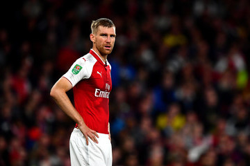 Per Mertesacker Arsenal v Doncaster Rovers - Carabao Cup Third Round