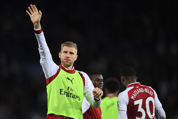 Per Mertesacker Leicester City Vs. Arsenal - Premier League