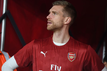 Per Mertesacker Arsenal v Chelsea - Premier League