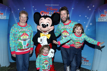 Perez Hilton Mario Armando Lavandeira III Disney on Ice Presents Follow Your Heart Celebrity Guests