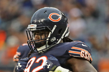 Pernell McPhee Carolina Panthers v Chicago Bears