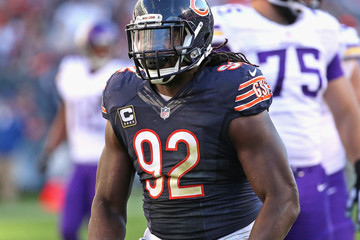 Pernell McPhee Minnesota Vikings v Chicago Bears