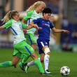 Pernille Harder Chelsea Ladies vs. Wolfsburg - UEFA Womens Champions League Semi-Final: First Leg