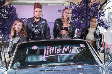 Perrie Edwards Little Mix Photocall for Their New Album 'Glory Days'