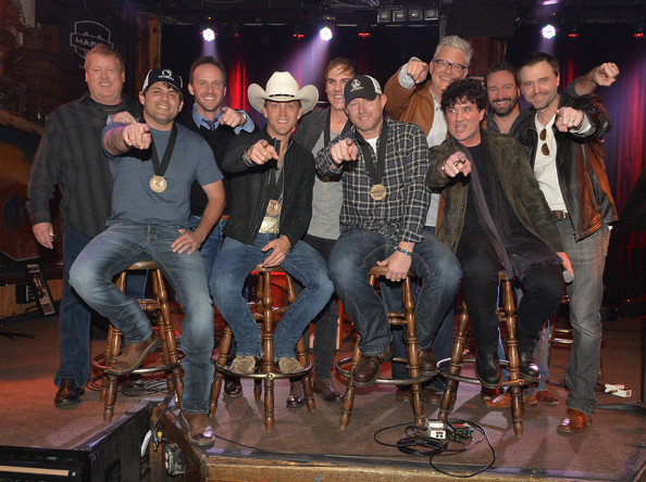 Justin Moore Celebrates His Number One Song