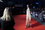 """Gwendoline Christie attends """"The Personal History Of David Copperfield"""" European Premiere & Opening Night Gala during the 63rd BFI London Film Festival at the Odeon Luxe Leicester Square on October 02, 2019 in London, England."""