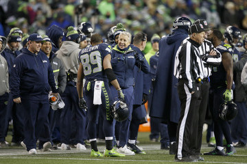 Pete Carroll Wild Card Round - Detroit Lions v Seattle Seahawks