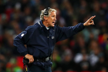 Pete Carroll Seattle Seahawks vs. Oakland Raiders