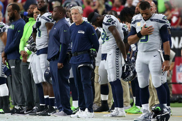 Pete Carroll Seattle Seahawks vs. Arizona Cardinals