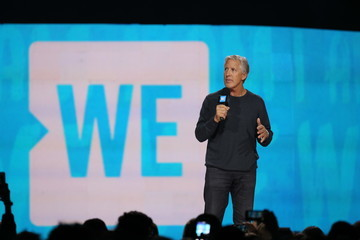Pete Carroll Russell Wilson, Pete Carroll, Doug Baldwin, Lily Collins, Allen Stone, Grace VanderWaal And More Come Together At WE Day Seattle To Celebrate Young People Changing the World