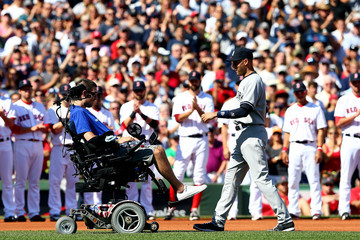 Pete Frates New York Yankees v Boston Red Sox