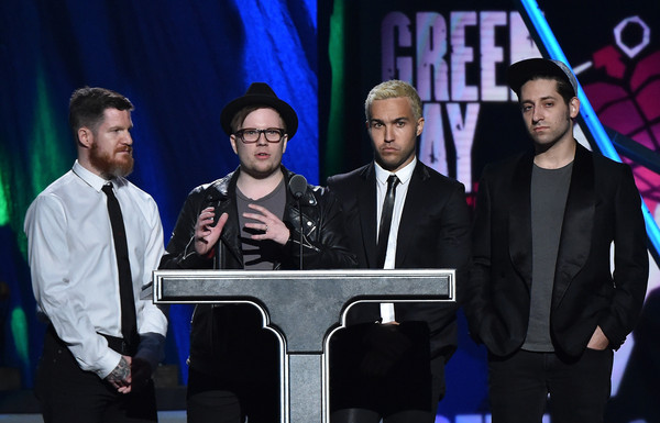 Pete Wentz And Andy Hurley Photos Photos 30th Annual Rock And Roll