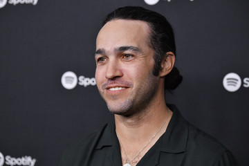 """Pete Wentz Spotify Hosts """"Best New Artist"""" Party At The Lot Studios - Red Carpet"""