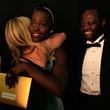 Peter Anyang' Nyong'o Backstage at the 86th Annual Academy Awards