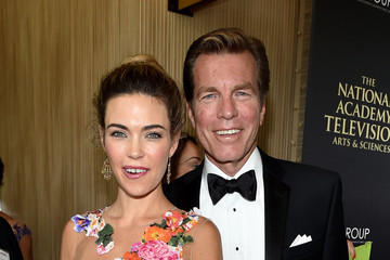 Peter Bergman Amelia Heinle The 41st Annual Daytime Emmy Awards - Red Carpet