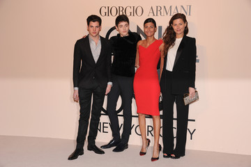 Peter Brant Arrivals at the Giorgio Armani SuperPier Show